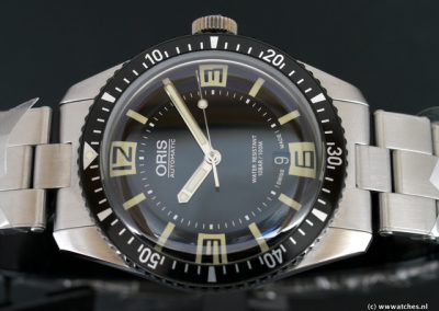 Oris Divers Sixty-Five-Staal